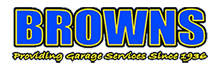 Browns garage logo
